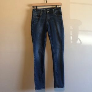 Articles of Society Dark Medium Wash Skinny Jeans
